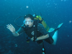 Vic Hotchkin, Stellar Divers, PADI Scuba school, Lincoln
