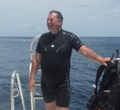 Mick May - PADI Master Scuba Diver